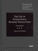 The Law of International Business Transactions