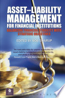 Asset–Liability Management for Financial Institutions