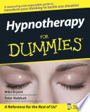 Hypnotherapy For Dummies Book