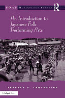 Pdf An Introduction to Japanese Folk Performing Arts Telecharger
