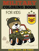 Military Coloring Book for Kids
