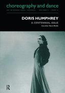 Doris Humphrey ebook
