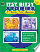 Itsy Bitsy Stories for Reading Comprehension, Grade 2