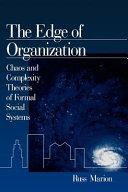 The Edge of Organization
