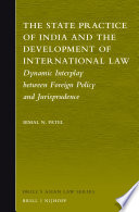 The State Practice of India and the Development of International Law Book