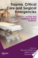 Trauma  Critical Care and Surgical Emergencies