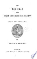 The Journal Of The Royal Geographical Society Book PDF