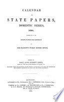 Calendar Of State Papers Domestic Series Of The Commonwealth 1649 1660