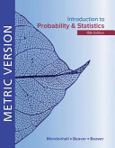 Cover of Introduction to Probability and Statistics Metric Edition