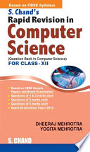 S.Chand's Rapid Revision in Computer Science for Class 12