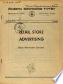 Retail Store Advertising