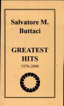 Salvatore M  Buttaci Greatest Hits