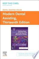 Dental Assisting Online for Modern Dental Assisting Access Card