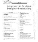 Competency   Emotional Intelligence Benchmarking
