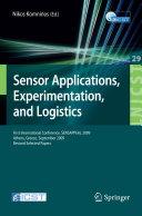Sensor Applications, Experimentation, and Logistics
