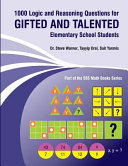1000 Logic and Reasoning Questions for Gifted and Talented Elementary School Students Book