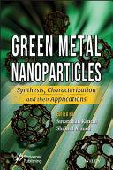 Green Metal Nanoparticles Book