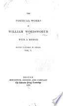 The Poetical Works of William Wordsworth Book