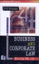 Busi. & Corp. Law For Pe-Ii