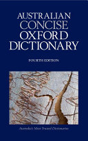 The Australian Concise Oxford Dictionary