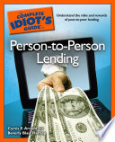 The Complete Idiot S Guide To Person To Person Lending