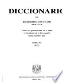 Diccionario de escritores mexicanos, siglo XX: N-Q