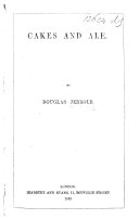 Cakes and Ale   Tales and essays