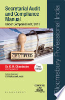 Secretarial Audit and Compliance Manual  Third Edition