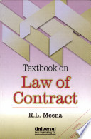 Texbook On Contract Law Including Specific Relief