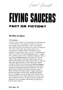 Flying Saucers  Fact Or Fiction