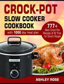 Crock-Pot Slow Cooker Cookbook