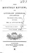 Pdf The Monthly Review, Or, Literary Journal