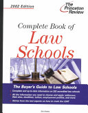 Complete Book Of Law Schools 2002 Edition