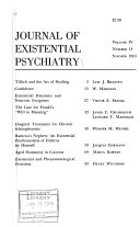 Journal of Existential Psychiatry