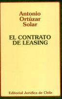 El contrato de leasing