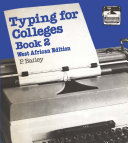 Typing for Colleges  bk 2