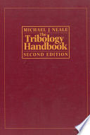 The Tribology Handbook Book PDF