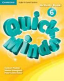 Quick Minds Level 6 Activity Book