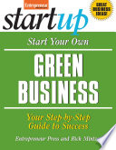 Start Your Own Green Business Book PDF
