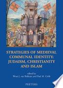 Strategies of Medieval Communal Identity