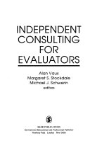 Independent Consulting for Evaluators