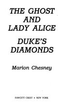 The Duke s Diamonds  The Ghost and Lady Alice
