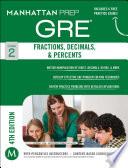 GRE Fractions  Decimals    Percents Book