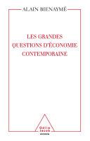 Les Grandes Questions d' économie contemporaine ebook