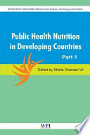 Public Health Nutrition in Developing Countries Book PDF