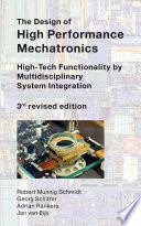 The Design Of High Performance Mechatronics 3rd Revised Edition Book PDF