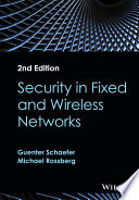 Security in Fixed and Wireless Networks Book