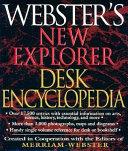 Webster S New Explorer Desk Encyclopedia