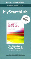 The Essentials of Family Therapy MySearchLab Access Code