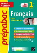 Pdf Prépabac Français 1re technologique Bac 2022 Telecharger